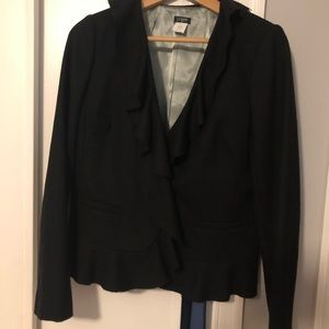 Black wool JCrew Wool Blazer